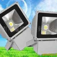 LED80W单光源户外招牌照明灯具/大型户外广告牌LED投光灯