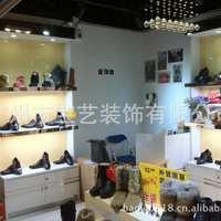 供应鞋类专柜服装展示柜制作烤漆展柜男女混合鞋货架制作