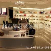 供应商场女鞋展示柜皮鞋展架专卖店展柜
