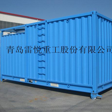 钢集装箱 固定式集装箱 集装箱污水设备处理
