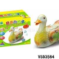 电动生蛋鸭电动下蛋鸭卡通益智鸭快乐鸭