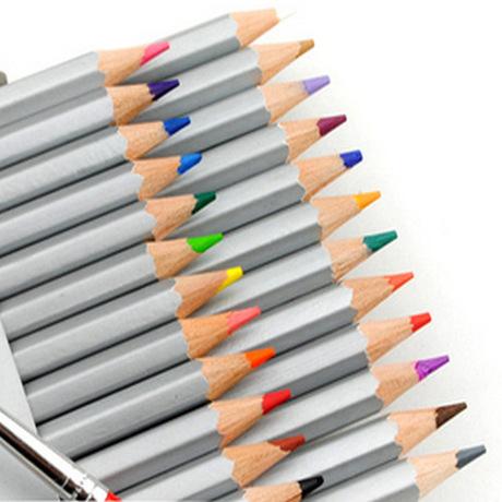 MARCO/马可7100-72色高级专业彩色铅笔72色油性彩铅纸盒装