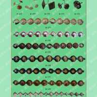 沙发泡钉排钉钉子金边条花边条装饰条和尚头挂钩弹夹箱包五金