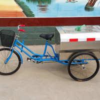 【厂家直销】不锈钢环卫保洁车环卫车环卫三轮车人力环卫保洁