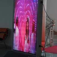 LED广告机报价表/p5户外广告机厂家/酒店P4LED广告机案例