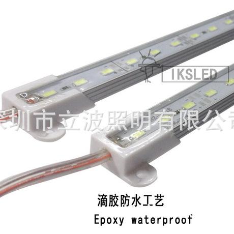5050高亮LED灯带5730贴片硬灯条低压5630滴胶防水线条灯户外装修