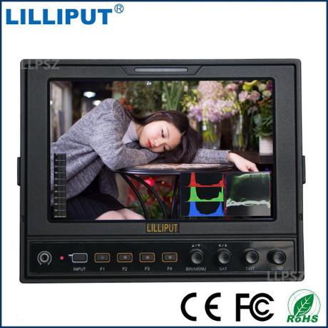 利利普662/S2IPS屏7寸广播级3G-SDI监视器SDI和HDMI双向转换器