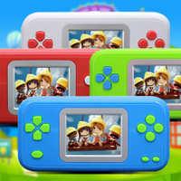 批发宝龙-810彩屏手掌游戏机228合一智益游戏机儿童少年