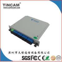 插片式PLC、分光器,1*8PLCsplitter1分8光分路器