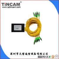 【厂家直销】专业生产PLC1*64分光器,SC/FC平面波导光分路器