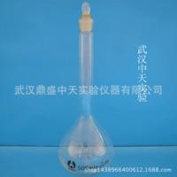 白容量瓶A级500ml透明玻璃容量瓶玻璃仪器玻璃量器