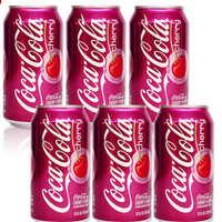 美国可乐(樱桃味)饮料355ml*24罐/箱*批*发*