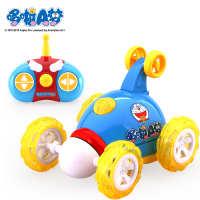 哆啦A梦遥控车翻斗车翻滚车遥控玩具车儿童汽车充电电动一件代发