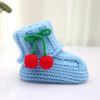 创意款樱桃款男女宝宝正品纯手工学步鞋厂家热销韩版宝宝学步鞋