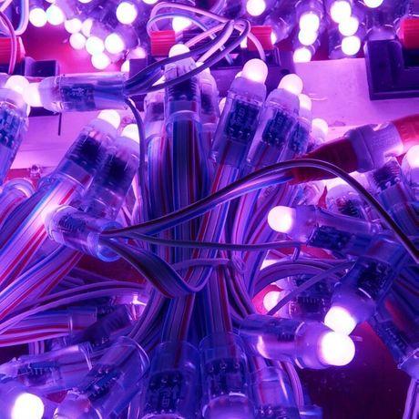 联合创信厂家直供16703,12mm灌胶全彩、七彩外露灯