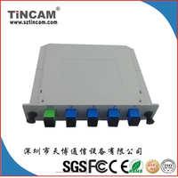 【广电专用】专注高质量插片式1分4PLC分光器,平面波导光分光器