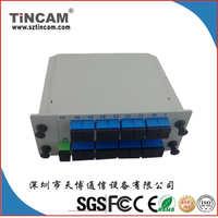 插片式PLC分光器,1*16PLCsplitter1分16光分路器