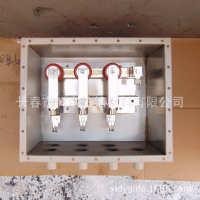 35kV高压电缆交叉互联接地箱-三相-7孔150-300mm2无屏蔽电缆