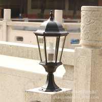 欧式复古宫廷景观户外防水庭院草坪围墙路灯送led