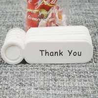 亚马逊爆款牛皮纸空白吊牌空白可书写标签留言烘焙礼物包装装饰现