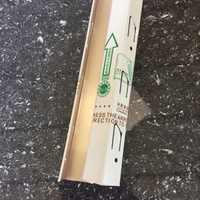 全饰界白色烤漆收边条0.5厚度铝合金边线集成吊顶铝扣板角线
