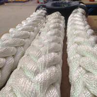 厂家直销船用八股缆绳三股绳码头绳索三股尼龙绳防晒防酸碱