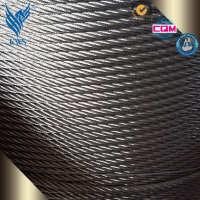 厂家直销201202304316L不锈钢钢丝绳涂塑不锈钢丝绳