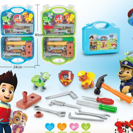 新款卡通五金工具箱家庭扳手系列维修工具修理包儿童过家家玩具直