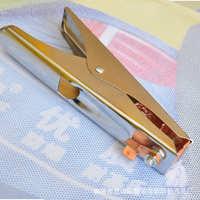 自产自销铜包铝500A纯铜重型电焊夹接地夹电焊机专用接地钳搭铁