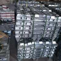 镁锌合金ABC原材料厂家大小光面锌镉合金锭饰品渔具专用锌合金