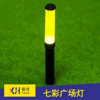 长沙银河厂家直销建筑模型材料3V微景观路灯圆柱形方形广场灯