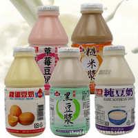 台湾进口饮料正康正品纯豆奶黑豆浆170ml常温豆奶营养健康