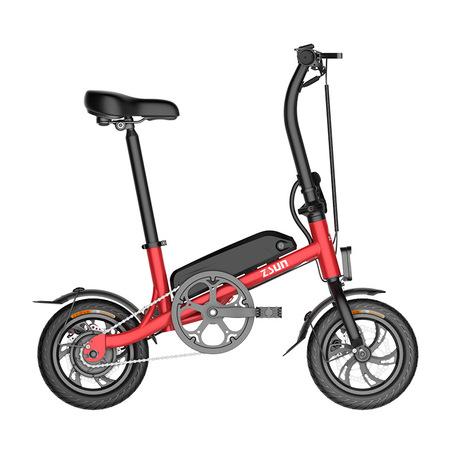 ZSUN尊尚折叠电动自行车锂电助力迷你便携超轻成人微型电瓶车男女