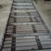 供应食品烘干设备不锈钢网带杀菌机304不锈钢网链金属螺旋网等