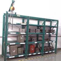 贵州模具抽屉式摆放架福建仓库塑胶模具放置架江西挤压模具钢架