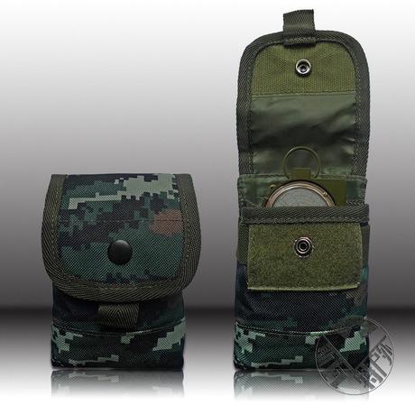厂家直销虎斑迷彩战术背心附件包特种兵对讲机包器材包可定制