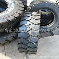 合力叉车3吨前轮实心轮胎6.50-1028x9-15抗撕裂高耐磨叉车轮胎