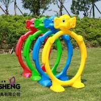 大象钻圈幼儿园跨栏儿童钻山洞塑料钻洞幼儿园钻圈体育活动器材