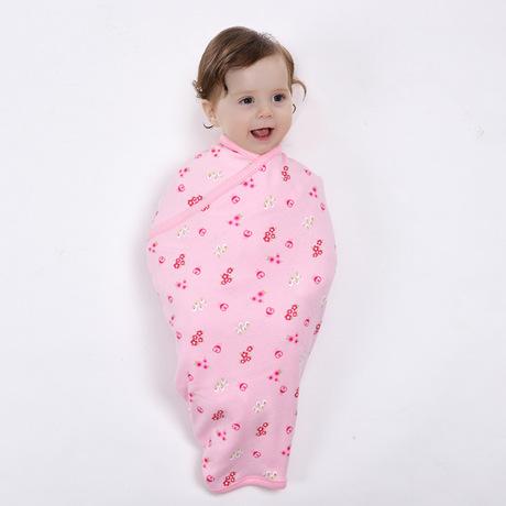 跨境热销春夏纯棉婴儿包被新生儿保暖空调抱毯baby襁褓简易包巾