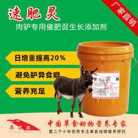 速肥灵饲料添加剂肉驴预混料快速催肥生长增肥壮膘加快出栏英美尔