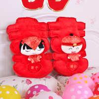 思泽婚庆用品创意压床娃娃一对结婚礼物抱枕毛绒公仔婚房布置