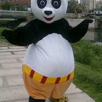 功夫熊猫师傅老虎卡通人偶服装活动大型行走成人电影道具头套