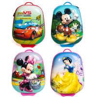迪士尼幼儿园男女童防水卡通拉杆箱书包厂家直销儿童旅行拉杆箱