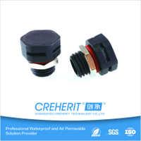 LED防水呼吸器防水透气塞散热呼吸阀防水透气阀塑料M12*1.5