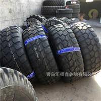 吊车起重机15.5R20部队重型越野卡车炮车轮胎GL073A花纹