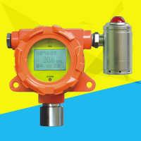 销售安装可燃气体报警器0-100%LEL带声光显示甲烷氧气探测器