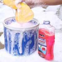 广标洗车液水蜡泡沫清洁清洗剂强力去污上光浓缩精粉水蜡专用免擦