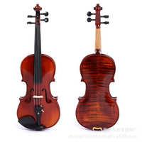 Violin专业考级小提琴成人儿童练习专用小提琴天然虎纹