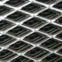 【产地货源】厂家直供菱形铝板网钢板网平台踩踏钢板网钢板拉伸网