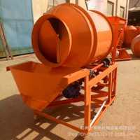 大量供应小型移动式滚筒搅拌机多功能种子拌药机卧式小麦包衣机
